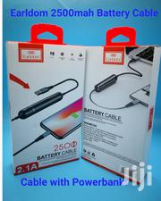 Earldom 2 in 1 Fast Charger Data Cable Power Bank for Android/ Ios | Accessories for Mobile Phones & Tablets for sale in Nairobi, Nairobi Central