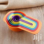 6 Measuring Cup And Spoon Set - Stackable Colorful For Baking Tools | Kitchen & Dining for sale in Nairobi, Pangani
