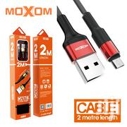 Moxom CC-54 Fast Charging 2 Meter Micro USB Charger Data Cable | Accessories for Mobile Phones & Tablets for sale in Nairobi, Nairobi Central
