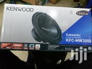 Brand New Kenwood KFC MW3000 Deep Bass Woofer 1200 Watts | Vehicle Parts & Accessories for sale in Nairobi, Nairobi Central