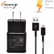 Original Type-c Cable UK Plug Fast Charging Travel Adapter Samsung S8 | Accessories for Mobile Phones & Tablets for sale in Nairobi, Nairobi Central