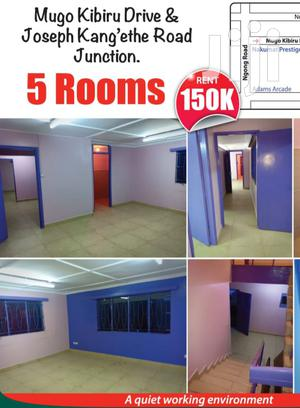 5 Room Office to Let