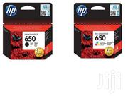 HP 650 Original Ink Cartridges Black and Colour   Computer Accessories  for sale in Nairobi, Nairobi Central