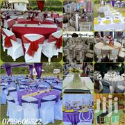 Table Cloths,Table Linen,Seat Covers,Tie Backs For Hire | Party, Catering & Event Services for sale in Nairobi, Roysambu