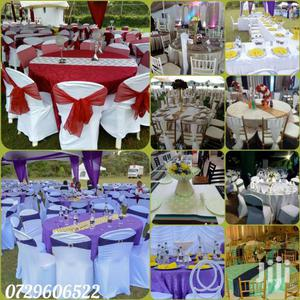 Table Cloths,Table Linen,Seat Covers,Tie Backs For Hire