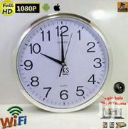 Wifi Wall Clock Nanny Camera | Home Accessories for sale in Nairobi, Nairobi Central