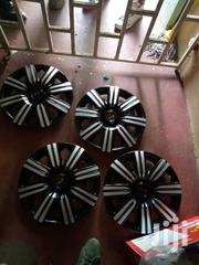 New Silver Black Wheels Caps 13/14/15"