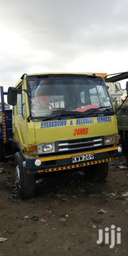 Mitsubishi Crane Truck 1985 Yellow For Sale | Trucks & Trailers for sale in Machakos, Athi River