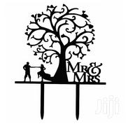 Mr & Mrs Wedding Cake Topper - Black | Kitchen & Dining for sale in Nairobi, Nairobi Central