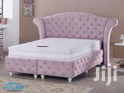 6x6 Buttoned Bed   Furniture for sale in Nairobi, Ngara