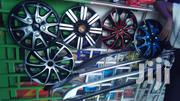Silver Black Universal Wheel Caps | Vehicle Parts & Accessories for sale in Nairobi, Nairobi Central