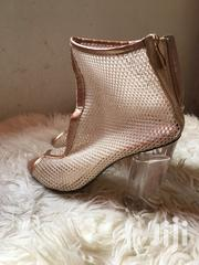 Gold Ankle Boot Size 37 | Shoes for sale in Nairobi, Kileleshwa