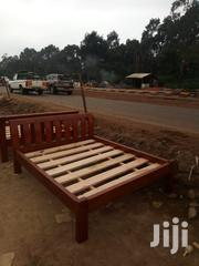 5by 6 Bed Mahogany Bed | Furniture for sale in Nairobi, Ngando