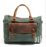 Cotton Canvas Army Green Messenger Unisex Military Bag | Bags for sale in Nairobi, Nairobi Central