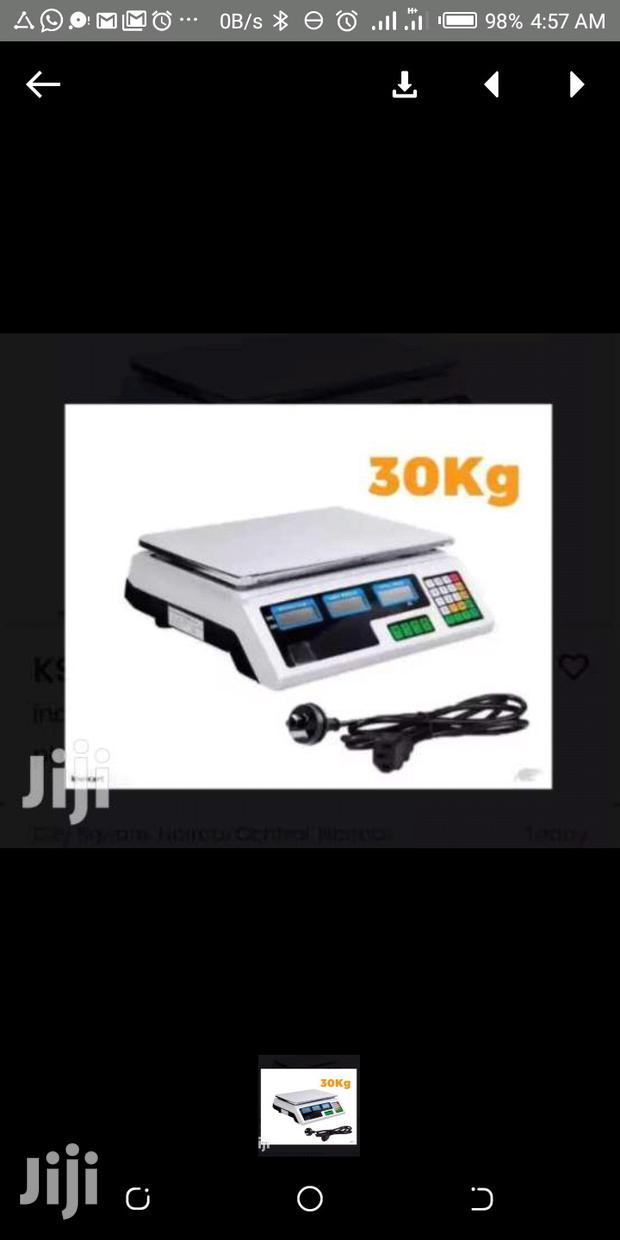 Archive: 30 Kgs Digital Weighing Scale Machine