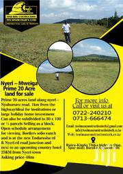 Nyeri Mweiga Prime Land 20 Acres | Land & Plots For Sale for sale in Nyeri, Mweiga