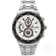 CASIO Silver With White Red Dial Chronograph Watch EFR 539 D 7AV | Watches for sale in Nairobi, Nairobi Central