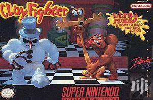 "Game Clayfighter""For Super Nintendo Entertainment System Pal Version"""