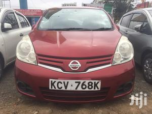 Nissan Note 2012 Red