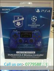 UEFA  LIMITED EDITION DUALSHOCK 4 Wireless Controller/ PADS | Video Game Consoles for sale in Nairobi, Nairobi Central
