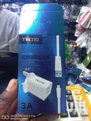 Tecno Dual USB Fast Charger | Accessories for Mobile Phones & Tablets for sale in Nairobi, Nairobi Central
