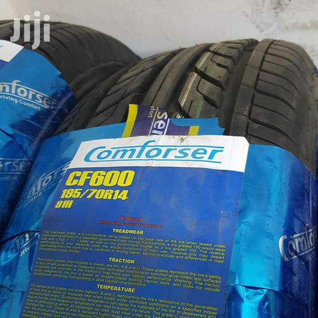 195/70/14 Comforser Tyre's Is Made In China