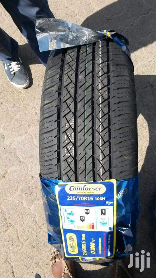 235/70/16 Comforser Tyre's Is Made In China