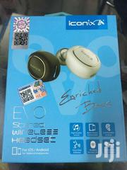 Iconix Evo Bluetooth Headset | Accessories for Mobile Phones & Tablets for sale in Busia, Bunyala West (Budalangi)
