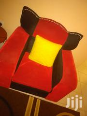 Well Maintained Red And Black Sofaset | Furniture for sale in Kajiado, Ongata Rongai