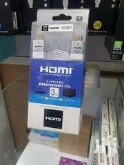 HDMI Cable 3 Meters   TV & DVD Equipment for sale in Nairobi, Nairobi Central