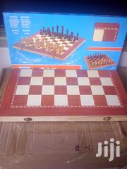 3 Ln 1foldable Wooden Chess Checkers Backgammon Board | Books & Games for sale in Nairobi, Nairobi Central