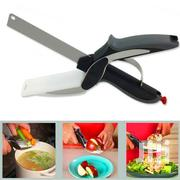 Kitchen Food Clever Cutter-2-In-1 Knife Cutting Board Scissor | Kitchen Appliances for sale in Nairobi, Nairobi Central