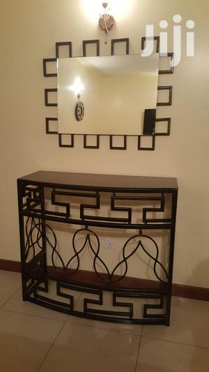 Console Tables With Mirrors