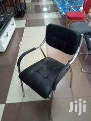 Black Buttorned Office Seat | Furniture for sale in Nairobi, Pumwani