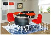 Red and Black Dinning Set | Furniture for sale in Nairobi, Zimmerman