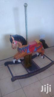Wooden Rocking Horse for Kids - Multicolored From UK, Height 1M | Toys for sale in Mombasa, Bamburi