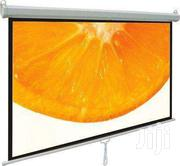 "Manual Wall-mount 70 X 70"" Projection Screen"" 
