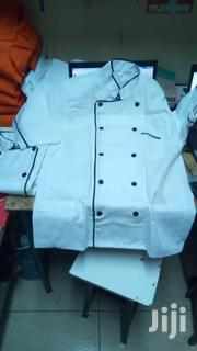 White Chef Jacket With Black Piping | Restaurant & Catering Equipment for sale in Nairobi, Nairobi Central