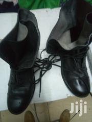 Black Security Leather Shoes Boots   Shoes for sale in Nairobi, Nairobi Central
