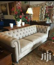 Deep Button Sofa 5seater Made on Order | Furniture for sale in Nairobi, Ngara