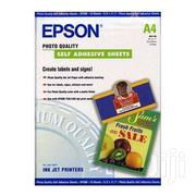 Glossy Photo Sticker Paper A4 For Use In Epson, Canon, Hp Printers   Stationery for sale in Nairobi, Nairobi Central