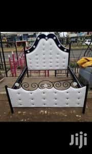 A White 5x6 Bed | Furniture for sale in Mombasa, Bamburi