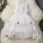 Cream White Dress | Children's Clothing for sale in Mombasa, Shimanzi/Ganjoni