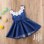 Denim Dress | Children's Clothing for sale in Mombasa, Shimanzi/Ganjoni