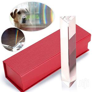 """6""""/150mm Crystal Optical Glass Triangular Prism For Photography"""
