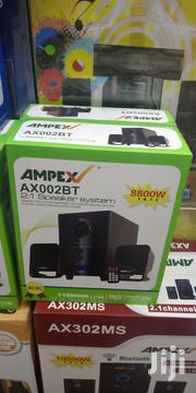 Ampex 2.1 Bluetooth Subwoofer Multimedia System Speakers AX002BT | Audio & Music Equipment for sale in Nairobi, Nairobi Central