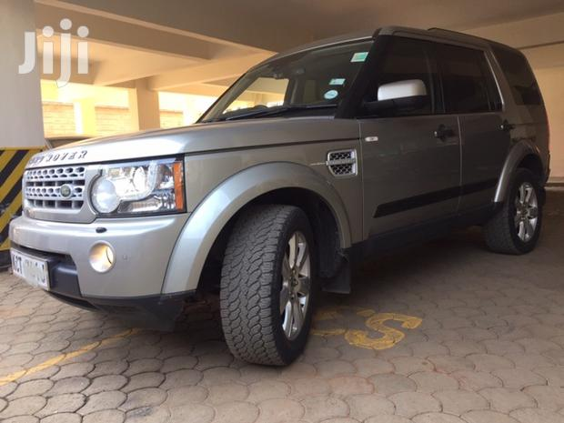 Archive: Land Rover LR4 2013 Gray