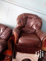 Leather Sofa 5siter | Furniture for sale in Nairobi, Baba Dogo
