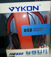 Vykon Me 999 Usb Multifunctional  Usb  Headphone | Accessories for Mobile Phones & Tablets for sale in Nairobi, Nairobi Central
