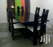 Uniquely Designed Mahogany 6-seater Dining Table Set | Furniture for sale in Nairobi, Ruai